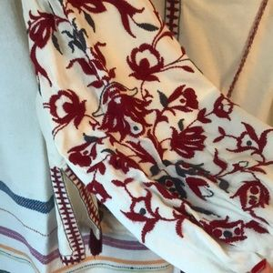 Gorgeous boho embroidered tunic